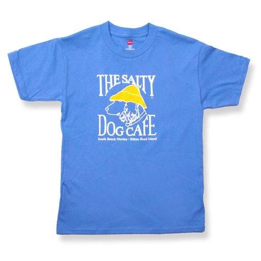 Hanes Youth Short Sleeve in Carolina Blue