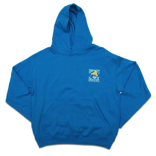 LAT Apparel Youth Hooded Pullover in Turquoise