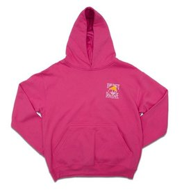 LAT Apparel Youth Hooded Pullover in Raspberry