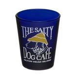 Salty Dog Shot Glass Blue