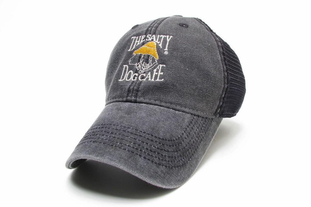 Legacy Dashboard Trucker Hat in Black