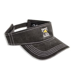 AHead Pigment Dyed Visor in Charcoal