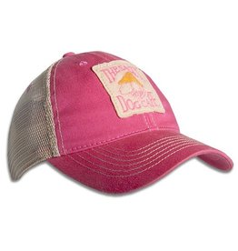Legacy Old Favorite Trucker Hat in Dark Pink