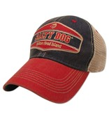 Legacy Old Favorite Trucker Hat in Navy/Scarlet