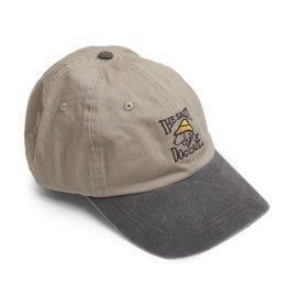 AHead Pigment Dyed Hat in Bone/Black