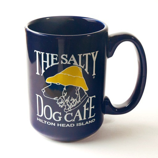 Salty Dog Coffee Mug in Navy