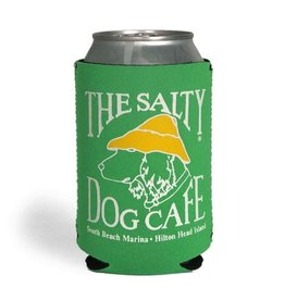 Salty Dog Can Holder in Kelly Green