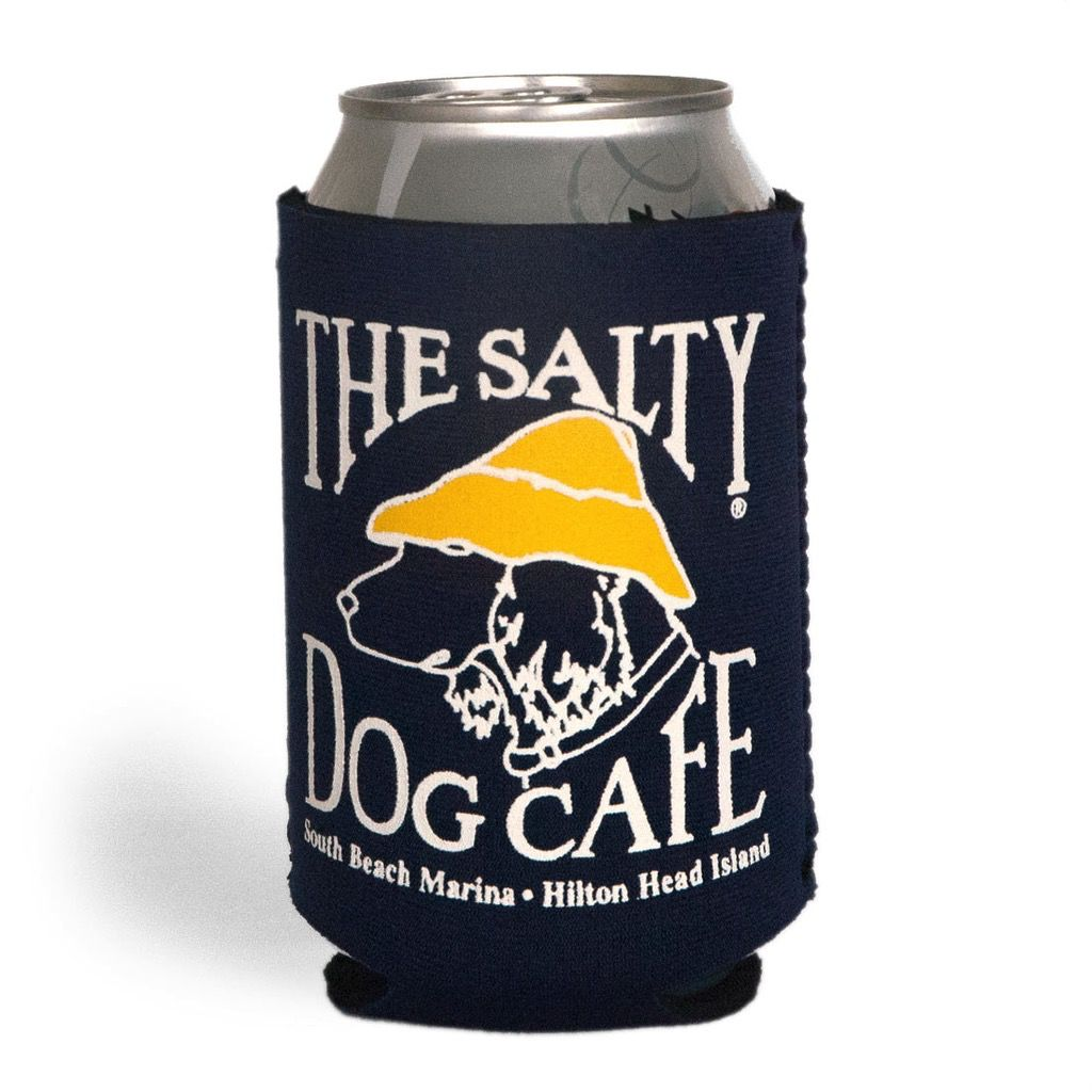 Salty Dog Can Holder in Navy