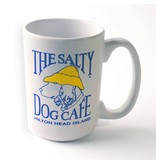 Salty Dog Coffee Mug in White