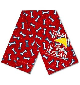 Salty Dog Tossed Bones Large Bandana