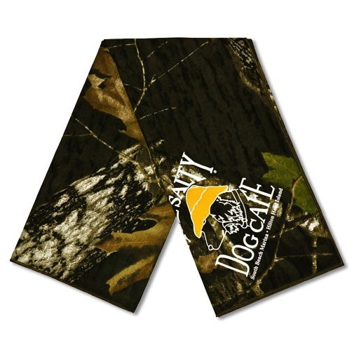 Salty Dog Camouflage Large Bandana