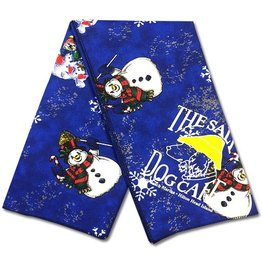 Salty Dog Snowmen Large Bandana