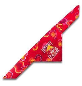 Salty Dog Valentines Large Bandana