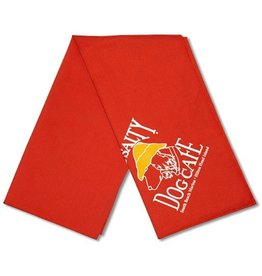 Salty Dog Orange Small Bandana