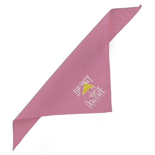 Salty Dog Light Pink X-Small Bandana