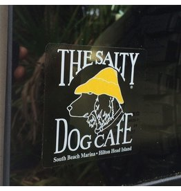 Salty Dog Clear Decal Sticker