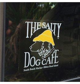 Salty Dog Clear Decal Sticker