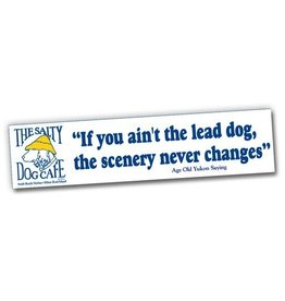 Salty Dog Lead Dog Bumper Sticker