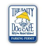 Salty Dog Parking Permit Sticker - Parking Permit