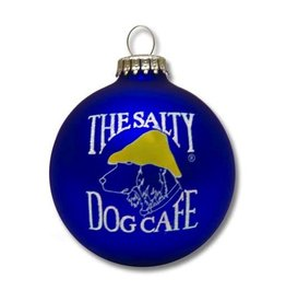 Salty Dog Christmas Ornament in Royal