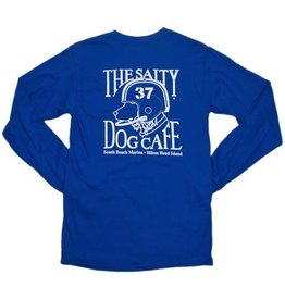 Hanes Football Dog in Royal