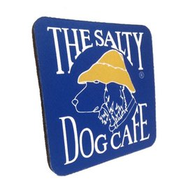 Salty Dog Coaster-Blue Neoprene