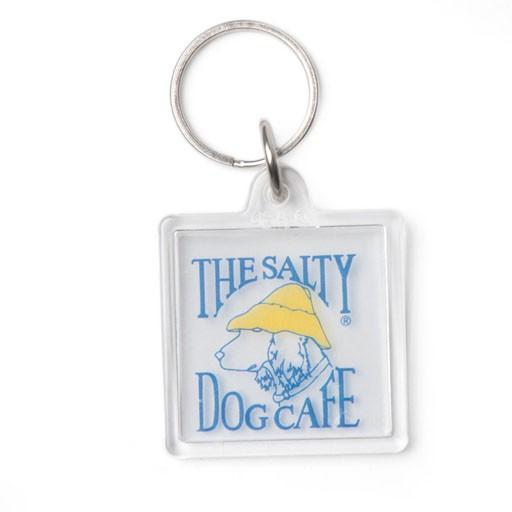 Salty Dog Clear Keychain