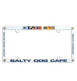 Salty Dog License Plate Frame