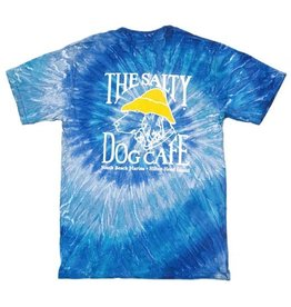 ColorTone Tie Dye Short Sleeve in Blue Jerry