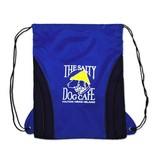 Salty Dog Drawstring Bag in Royal