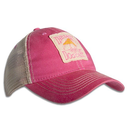 Legacy Youth Old Favorite Trucker Hat in Dark Pink
