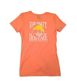 NextLevel Women's Triblend Tee In Vintage Light Orange