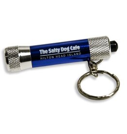 Salty Dog Key Chain Light in Blue