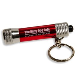 Salty Dog Key Chain Light in Red