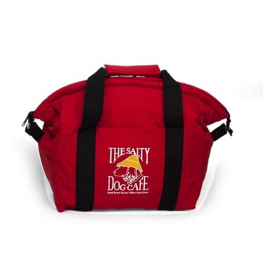 Salty Dog 12 pack Cooler Bag in Red