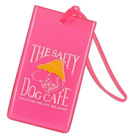 Salty Dog Luggage Tag in Pink