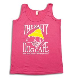 Anvil Women's Tank Top in Hot Pink