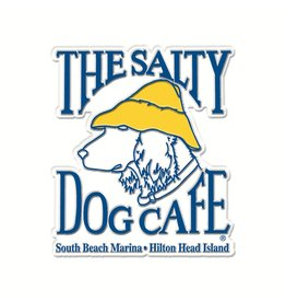 Salty Dog Logo Magnet