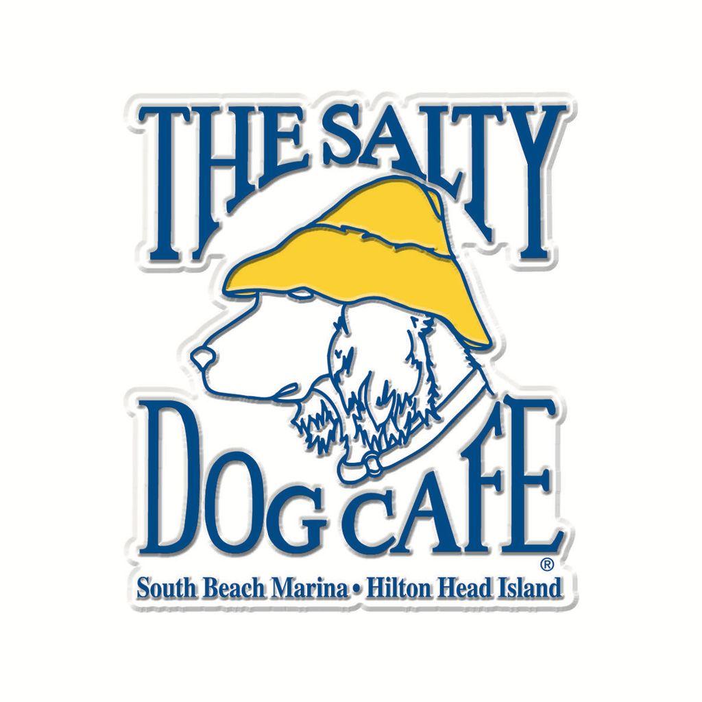 Salty Dog Logo Magnet