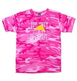 Code V Youth Camo Tee in Pink Camo