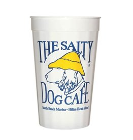Salty Dog Party Cup in White
