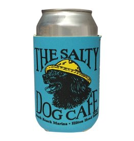 Salty Dog Vintage Jake Can Holder in Ocean