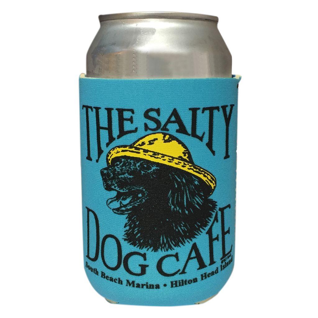 Salty Dog Vintage Jake Can Holder in Ocean