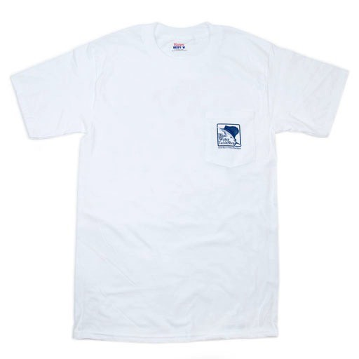 Hanes Blue Water Pocket Full-Color Sailfish