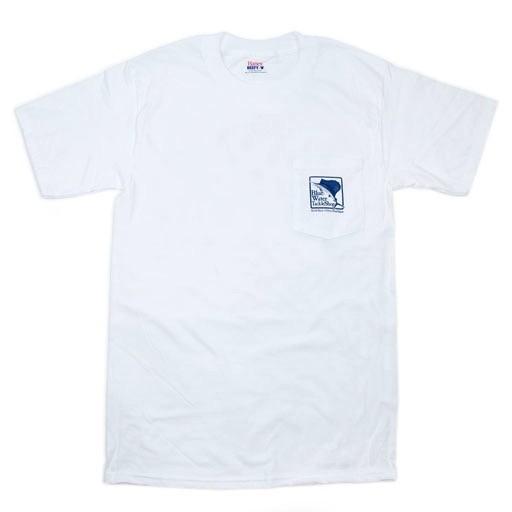 Hanes Blue Water Pocket Full-Color Sailfish