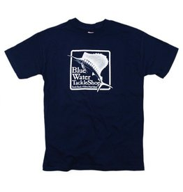 Hanes Blue Water Youth Short Sleeve in Navy