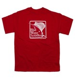 Hanes Blue Water Youth Short Sleeve in Red
