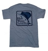 Hanes Blue Water Short Sleeve in Light Steel