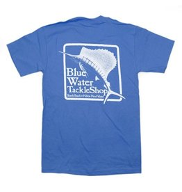 Hanes Blue Water Short Sleeve in Carolina Blue