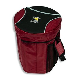 Salty Dog Collapsible Seat Cooler in Red